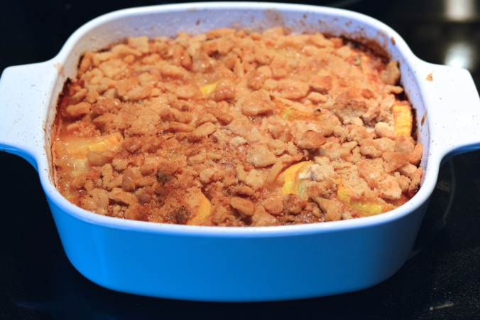 Southern Summer Squash Casserole #YearofMonths