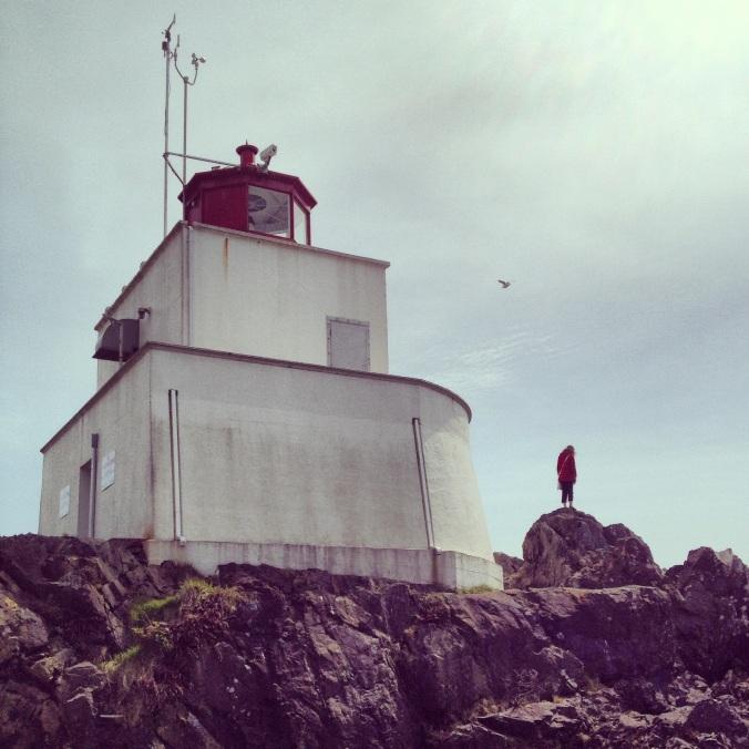 Girl on Lighthouse