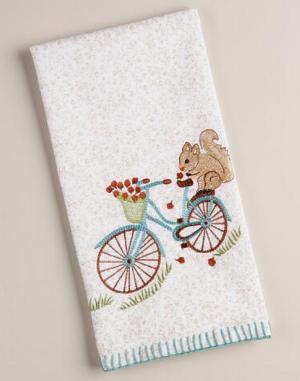 WM Squirrel Towel