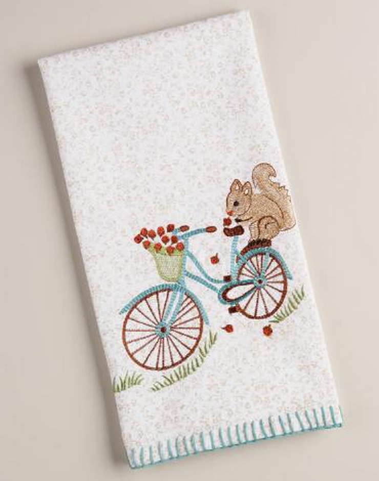 WM Squirrel Towel