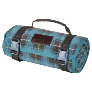 plaid outdoor blanket