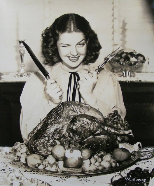 Thanksgiving-Rita Hayworth