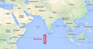 Maldives-location