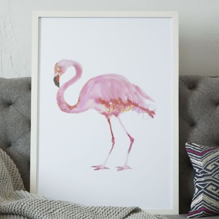 framed-bird-wall-art-flamingo-o