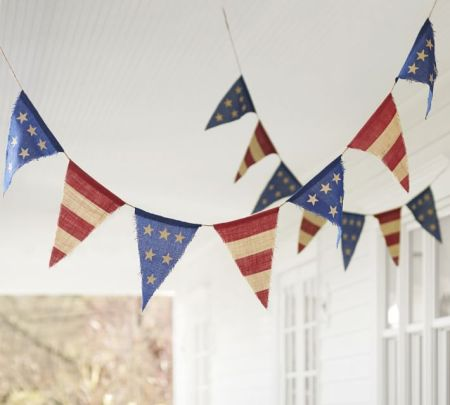 americana-burlap-party-banner